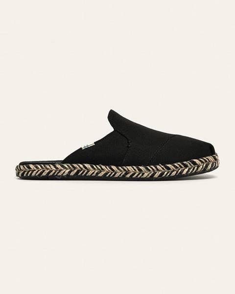 Čierne sandále TOMS