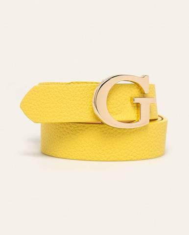 Žltý opasok Guess Jeans