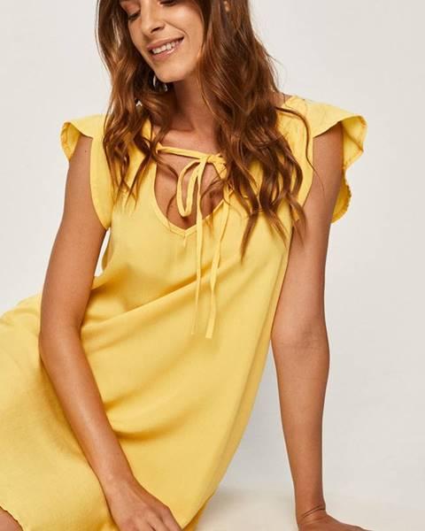 Žlté šaty Answear