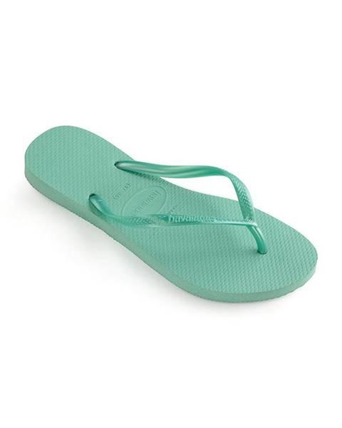 Tyrkysové sandále Havaianas