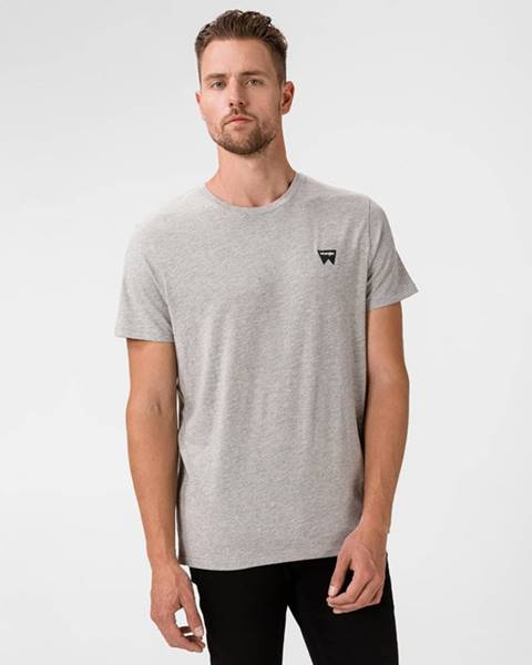 Sivé tričko Wrangler