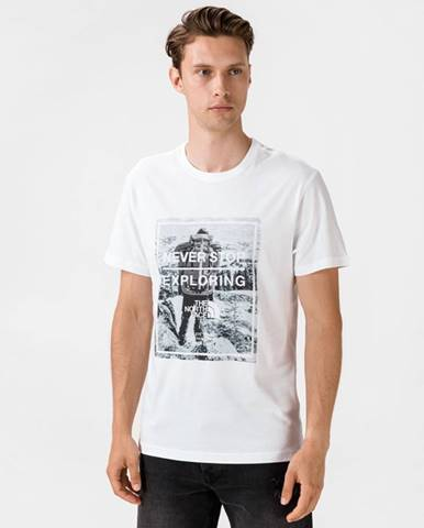 Biele tričko The North Face