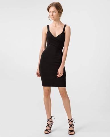 Čierna sukňa Armani Exchange