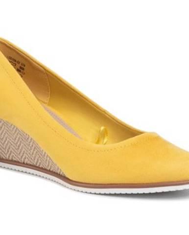 Žlté poltopánky Clara Barson