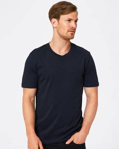 Tmavomodré tričko Selected Homme