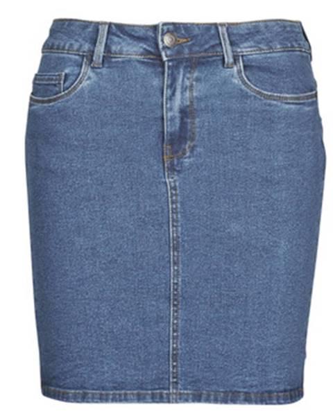 Modrá sukňa Vero Moda