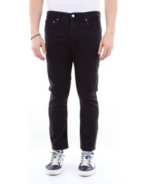 Čierne rifle Calvin Klein Jeans