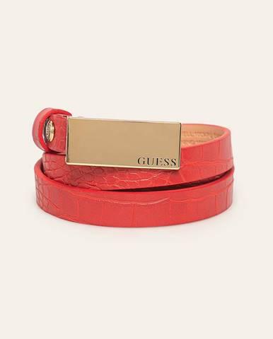 Červený opasok Guess Jeans