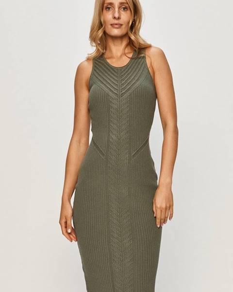Zelené šaty Marciano Guess