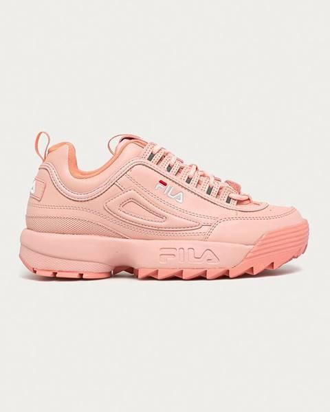 Ružové topánky Fila
