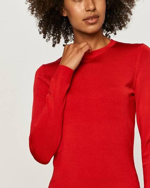 Červený sveter Love Moschino