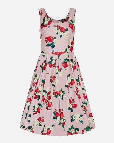 Ružové šaty Dolly & Dotty