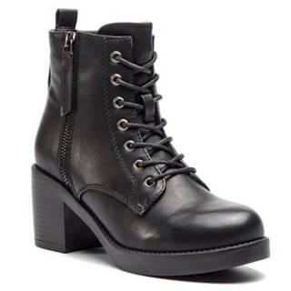 Šnurovacia obuv Jenny Fairy WS2677-03 koža ekologická