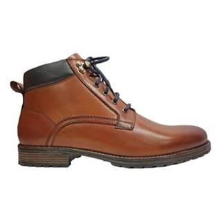 Šnurovacia obuv Lasocki for men MB-GORAN-103 koža(useň) lícová