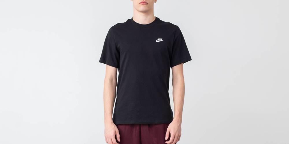 Nike Nike Sportswear Club Tee Black/ White