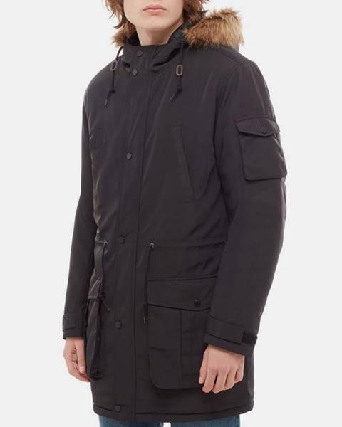 Čierna zimná bunda Vans