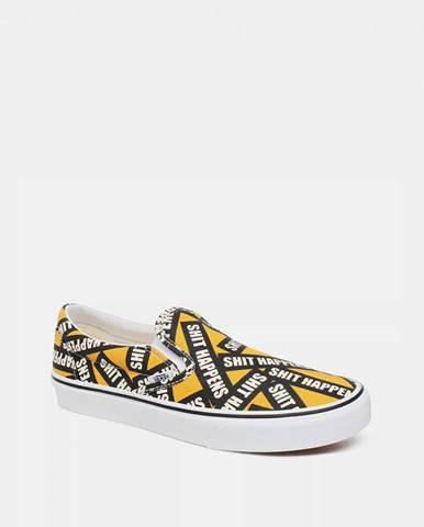 Žlté espadrilky Vans