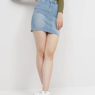 Modrá rifľová sukňa VERO MODA Seven