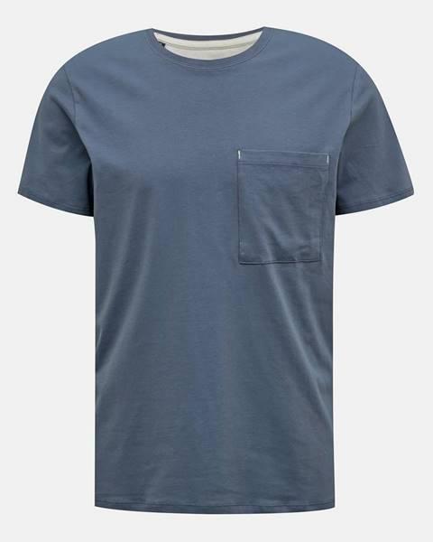 Modré tričko Selected Homme
